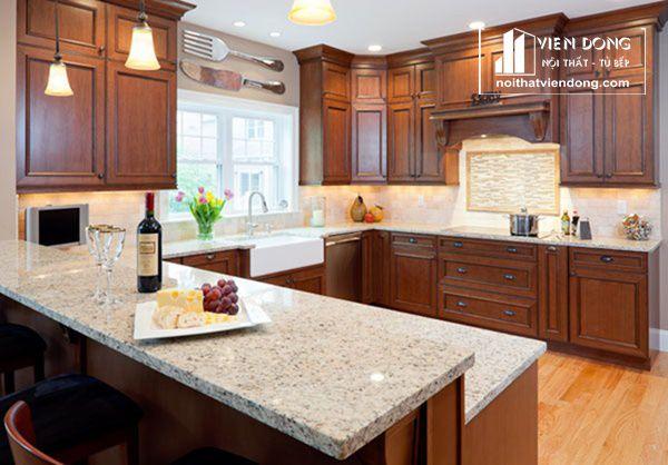 đá ốp bếp granite
