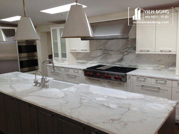 đá ốp bếp marble