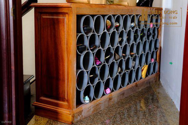 Hình 2: Tủ giày bằng ống