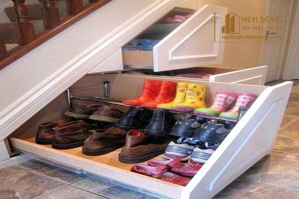 Tủ giày gầm cầu thang