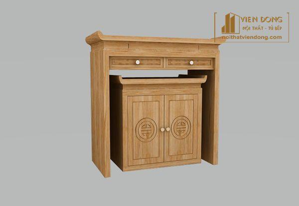 mẫu bàn thờ nhỏ cho chung cư