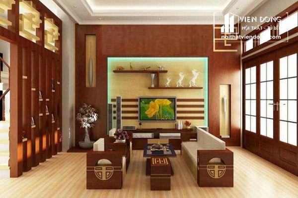 Ảnh 3: Tường gỗ hiện đại