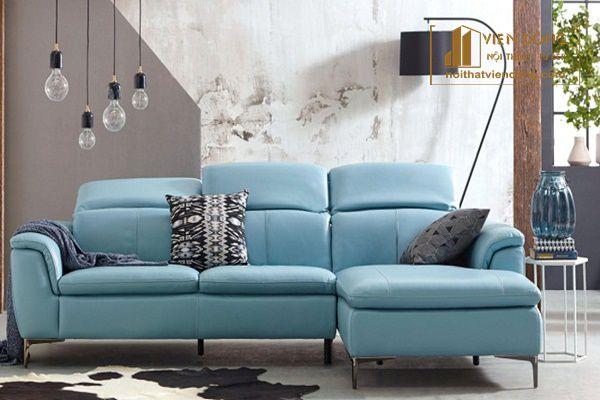 Màu sắc bộ sofa ảnh hưởng rất lớn vẻ đẹp tổng thể của căn phòng