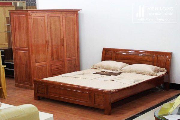bộ phòng ngủ vợ phòng gỗ xoan đào 2