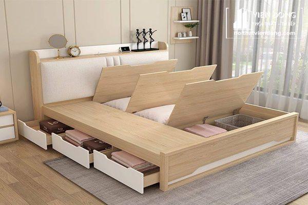 giường ngủ thông minh giúp tiết kiệm diện tích cho phòng ngủ nhỏ