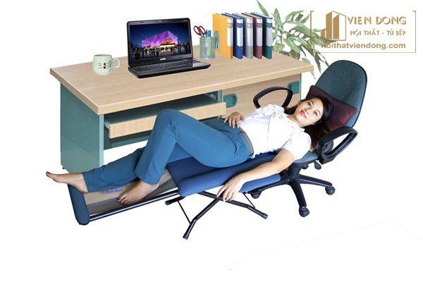 gối tựa lưng có thể tạo giấc ngủ trưa tiện lợi