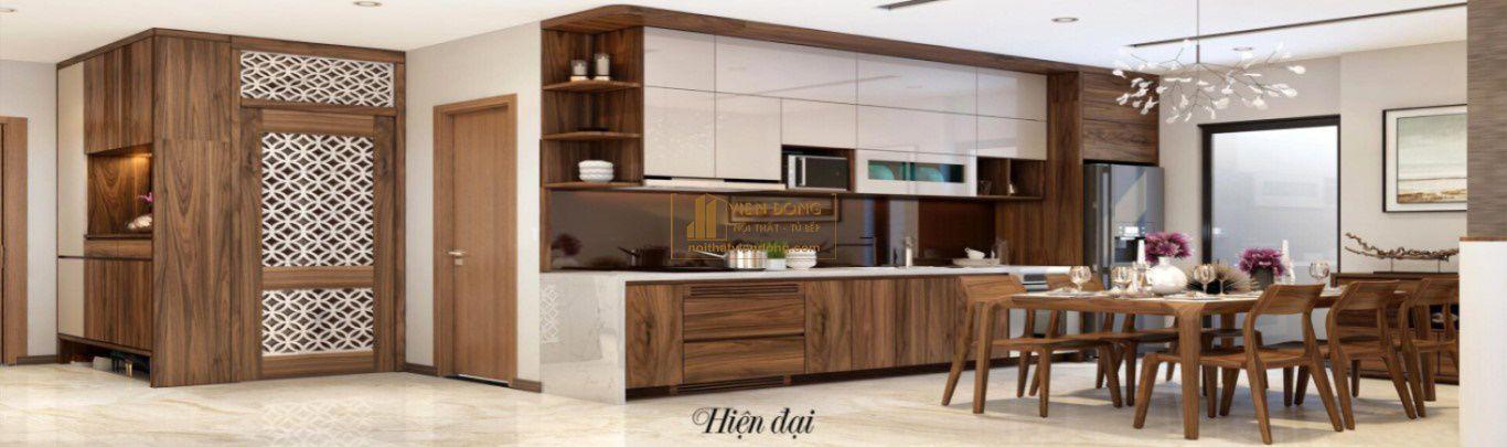 tủ bếp nội thất viễn đông