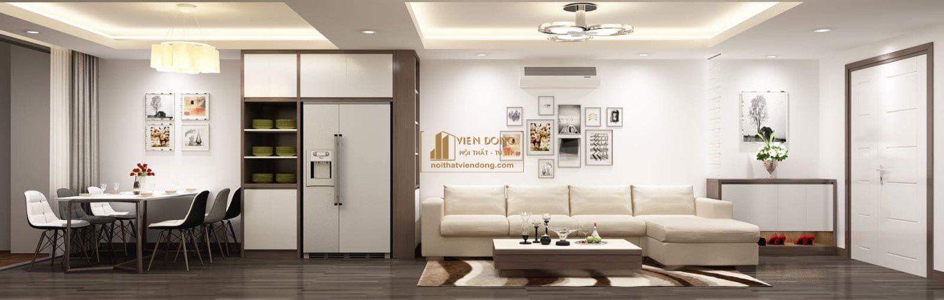 phòng khách nội thất viễn đông